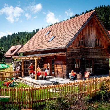 Naturpark Hütte